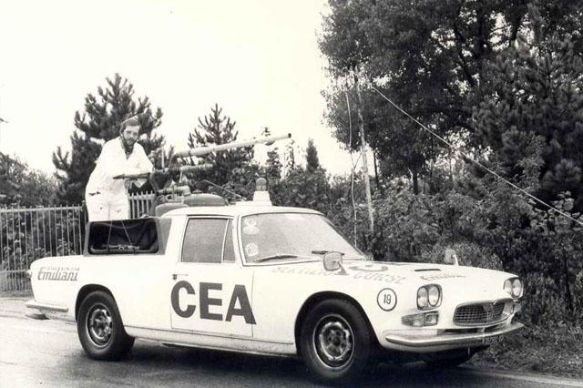 Maserati Quattroporte CEA - Immagine storica da Ceasquadracorse.
