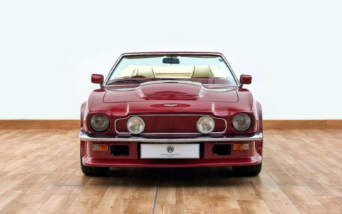 Aston Martin V8: in vendita l'ex-Beckham