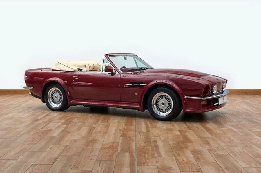 Aston Martin V8 Vantage Volante ex-Beckham