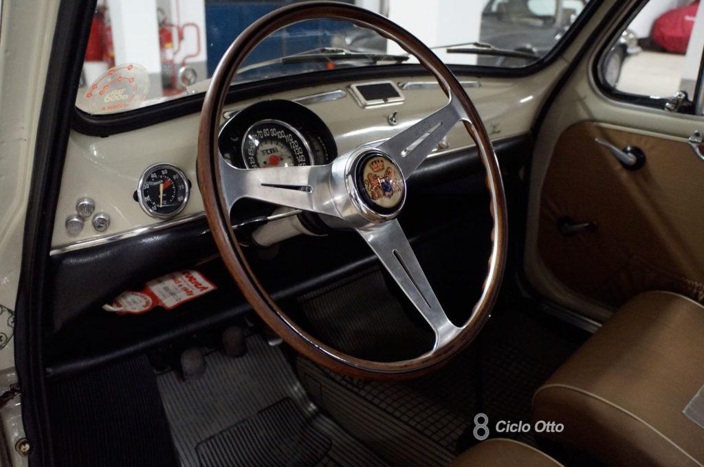 Fiat 600 D - Zagato Elaborazione - Interni - Foto Ciclootto