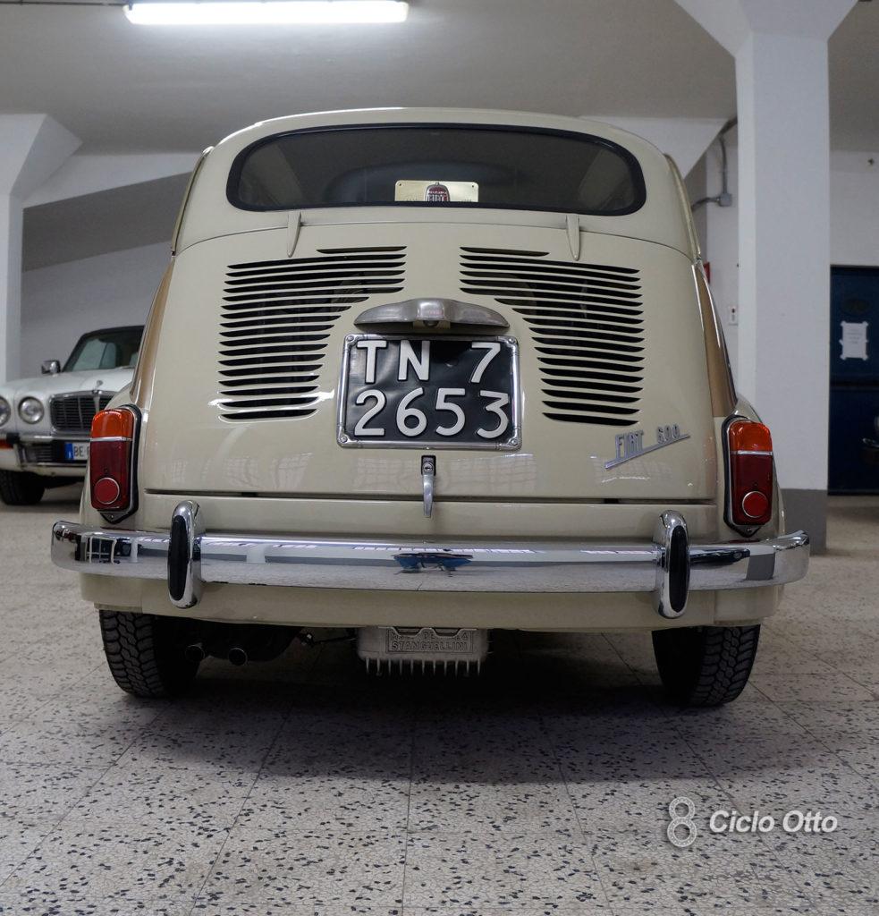 Fiat 600 D - Zagato Elaborazione - Foto Ciclootto