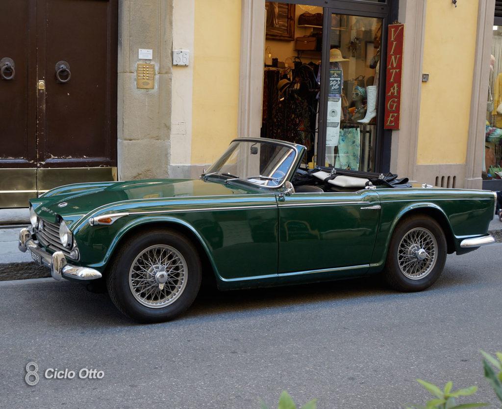 Triumph TR4A - - Motori Sotto le Stelle - Firenze, 10 Luglio 2020