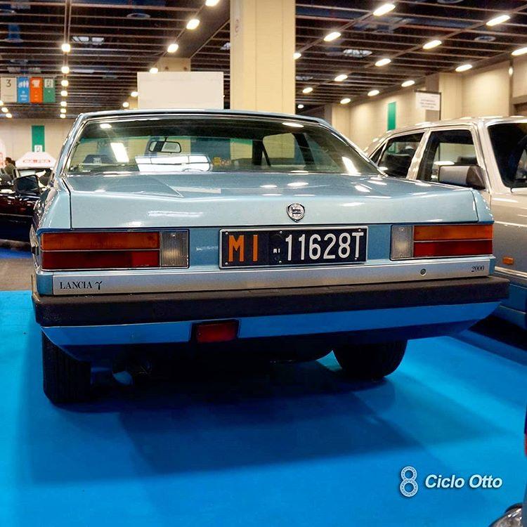 Lancia Gamma Coupé Pininfarina - 1983 - Rear