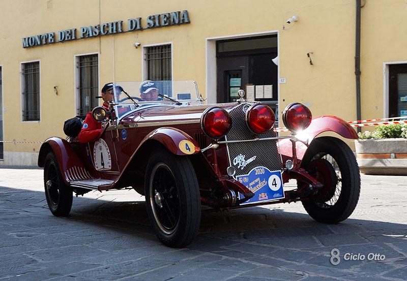 Alfa Romeo 6C 1750 Zagato - Gran Premio Nuvolari 2020