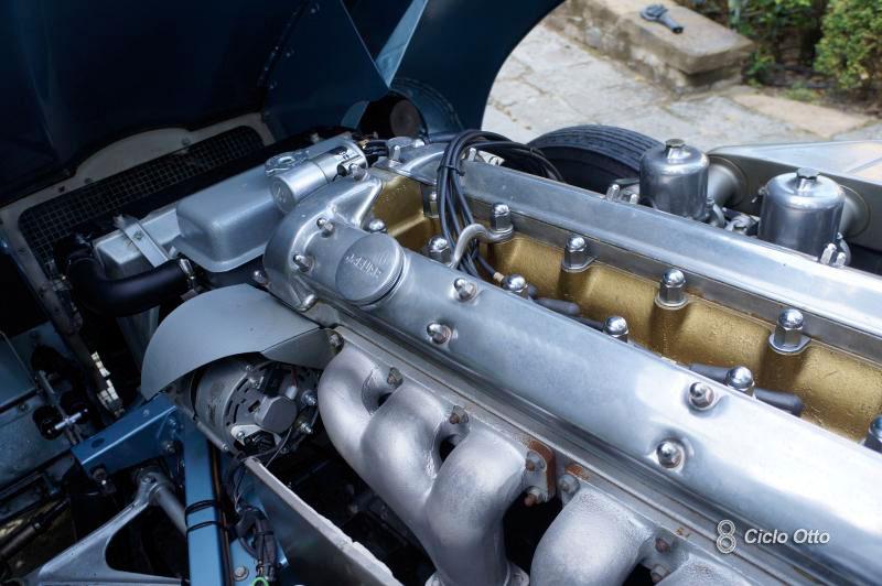 Jaguar E-Type - Motore 6 Cilindri