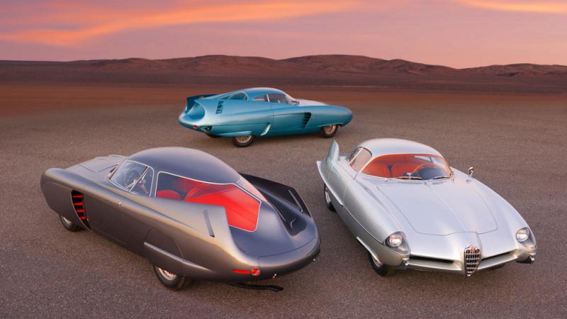 Alfa Romeo B.A.T. - Immagine Ron Kimball - RM Sotheby's