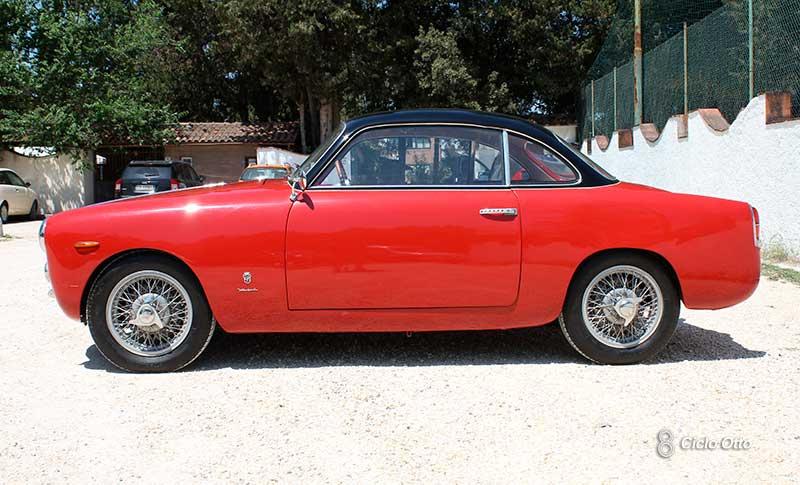 Fiat 1100 Coupé Ghia - Linea