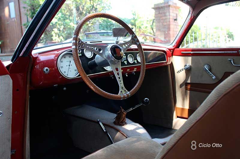 Fiat 1100 Coupé Ghia - Interni