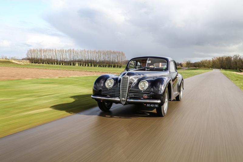 "Alfa Romeo 6C 2500 Sport Berlinetta ""Turinga"" - Foto Finarte"