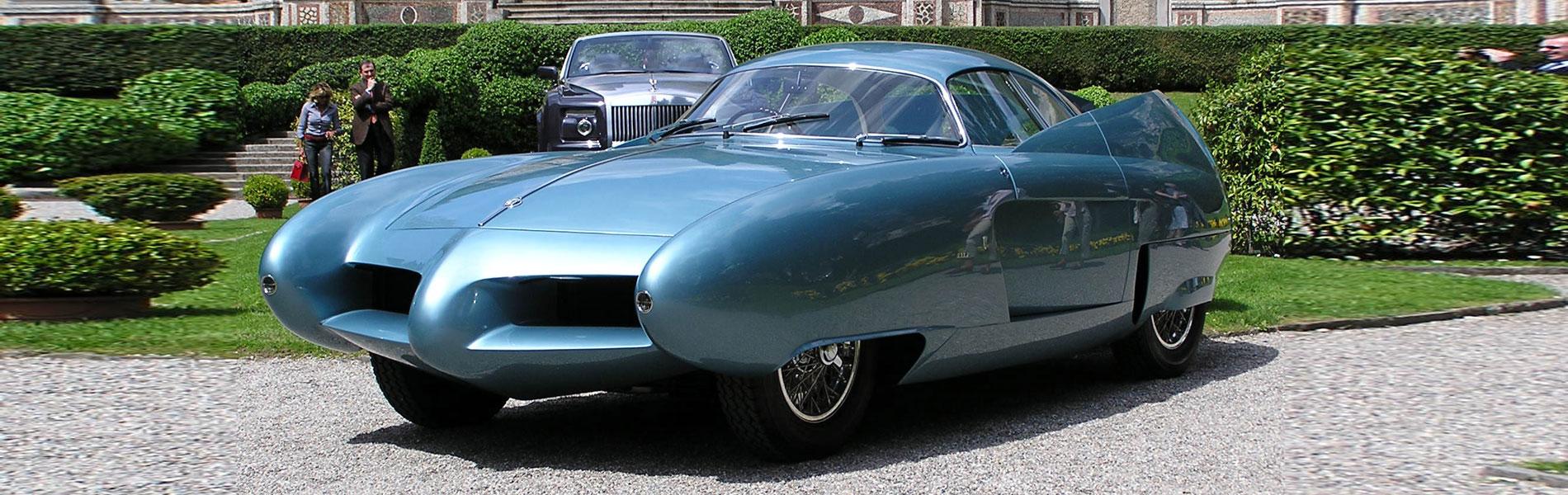 Bertone Alfa Romeo BAT 7 1954 - Immagine Jan Ter Hedde - Coachbuilder.com