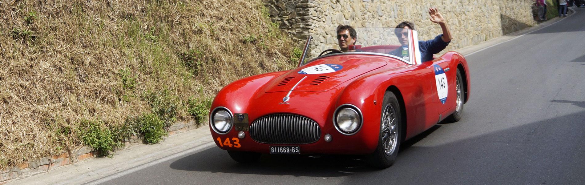 Cisitalia 202 MM - Mille Miglia 2019 - Vinci (c) Ciclootto