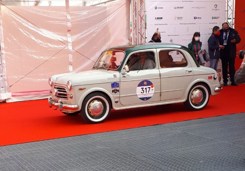 Fiat 1100/103 - #317 - Mille Miglia 2020