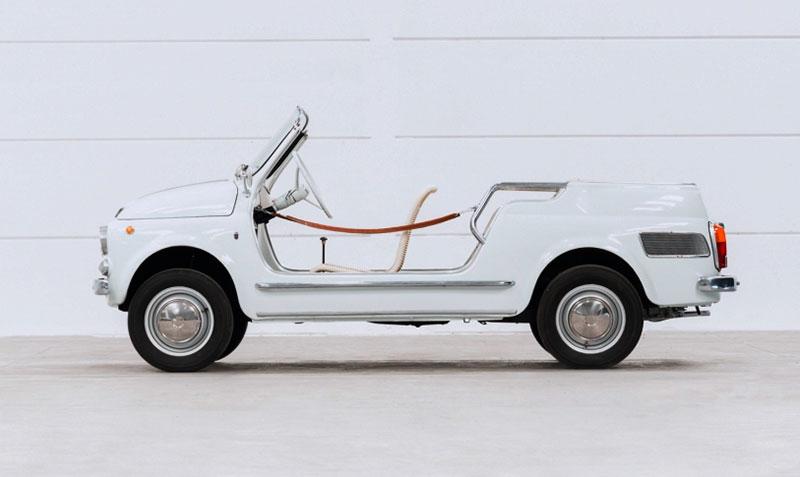 Fiat 500 Giardiniera Jolly Ghia - Immagine Aste Bolaffi