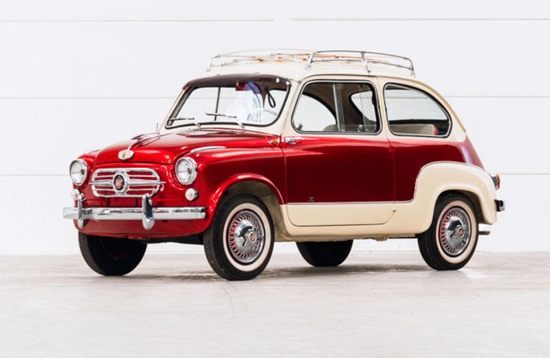 Fiat 600 Zagato - Immagine Aste Bolaffi