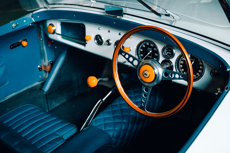 Lancia Aprilia Spider Basso - Ghia: Interni - Immagine Aste Bolaffi