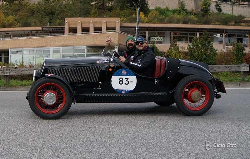 Loperfido - Calosi - #83 - Mille Miglia 2020 - Fiat 508 Coppa Oro