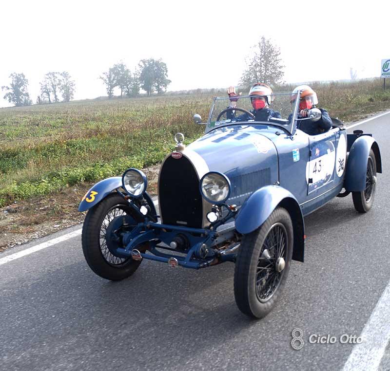 Marini - Ruggeri #43 Mille Miglia 2020 - Bugatti T40