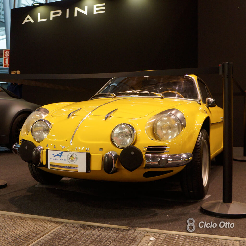 Renault-Alpine A110 1400 - © Ciclootto.it