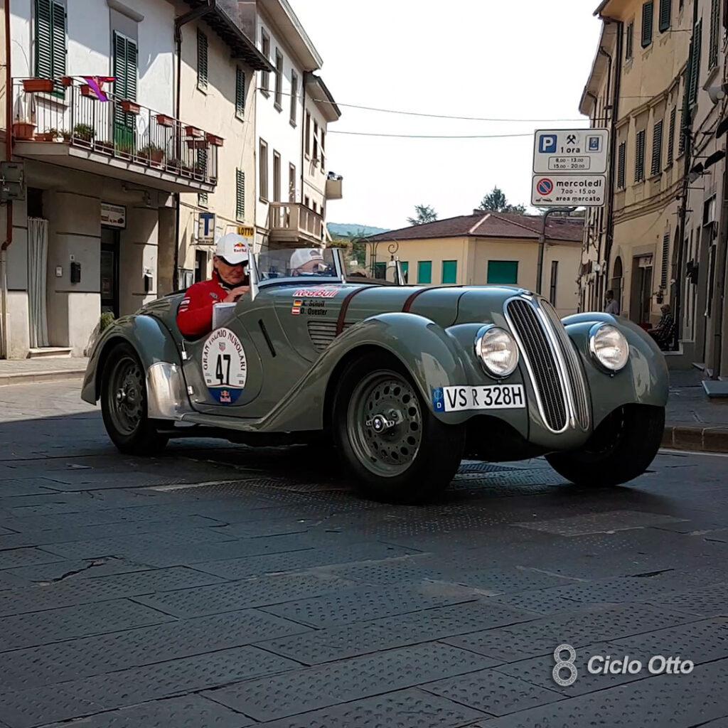 BMW 328 #47 - Gran Premio Nuvolari 2020 - © Ciclootto.it