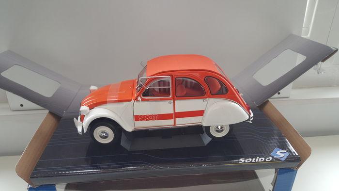 Citroën 2CV SPOT - Modellino 1/18 Solido - Immagine da Catawiki