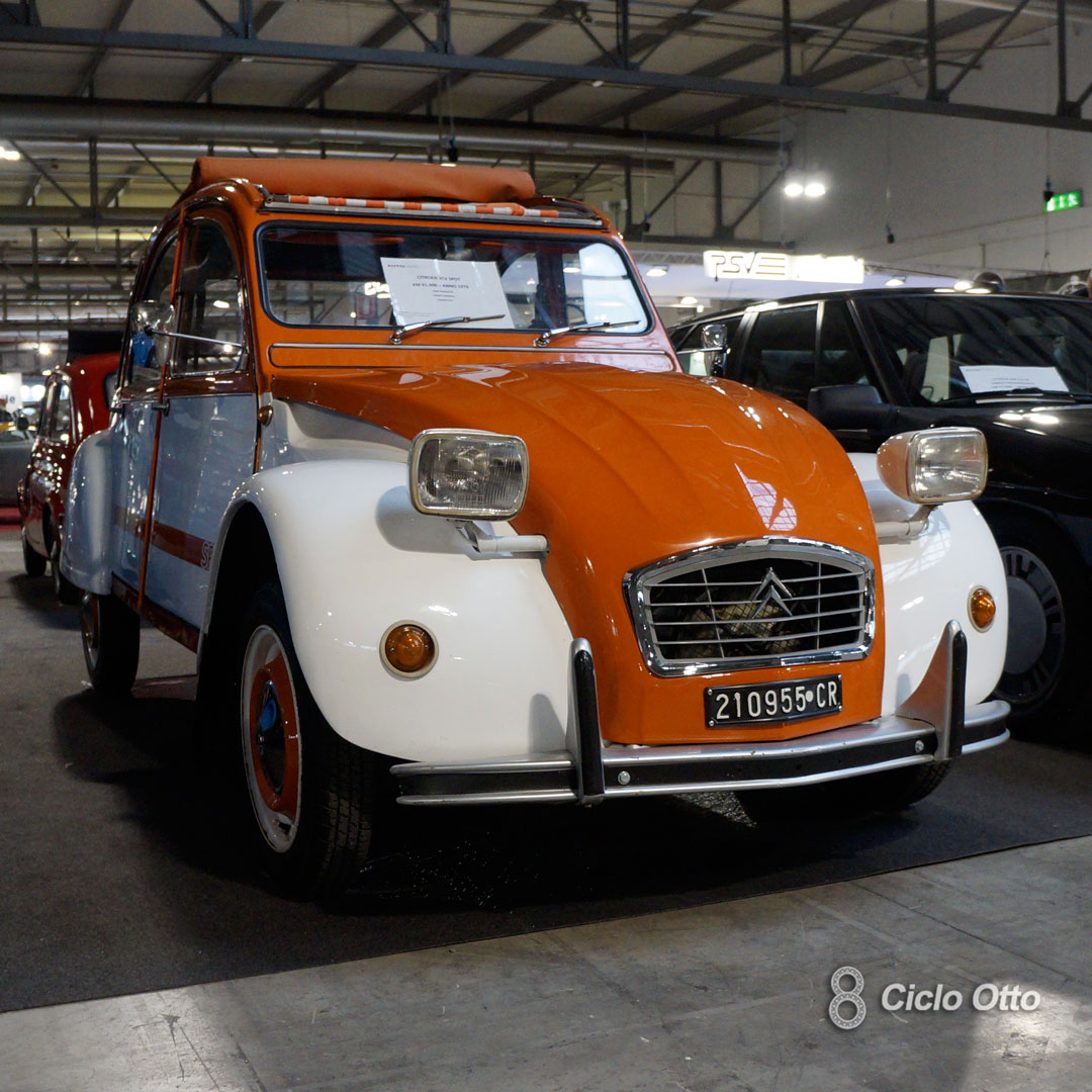 Citroën 2CV Spot - © Ciclootto.it