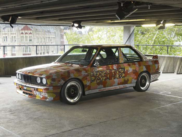 Michael Jagamara Nelson - BMW Art Car - Immagine BMW GROUP