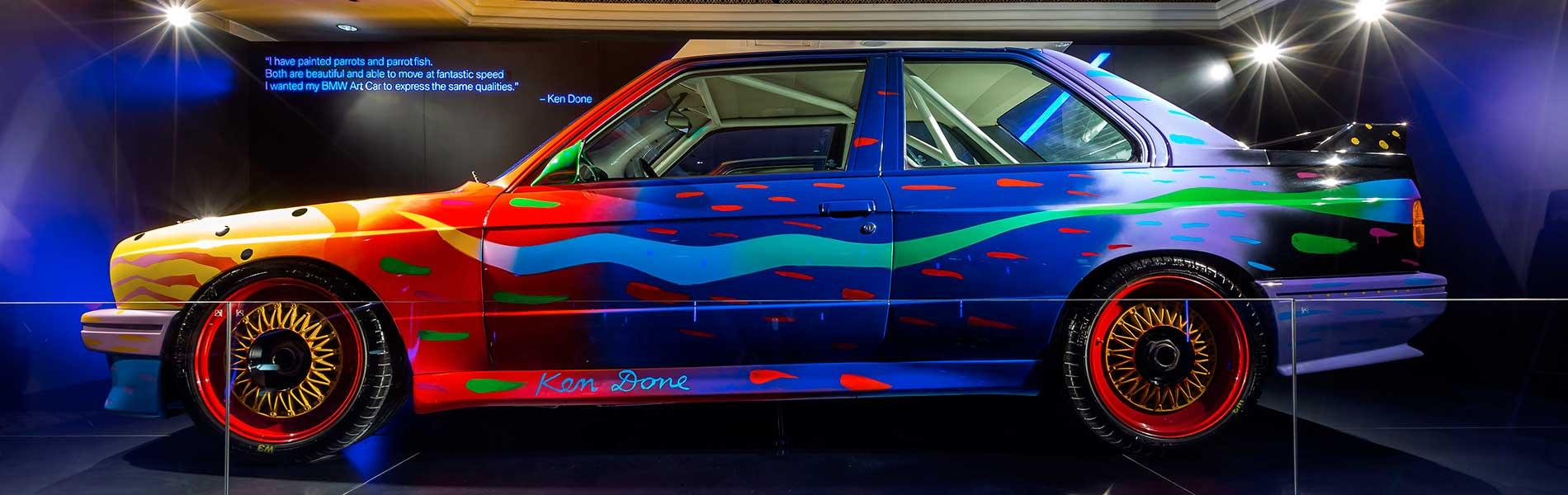 Ken Done - BMW Art Car #9 - Immagine BMW Group