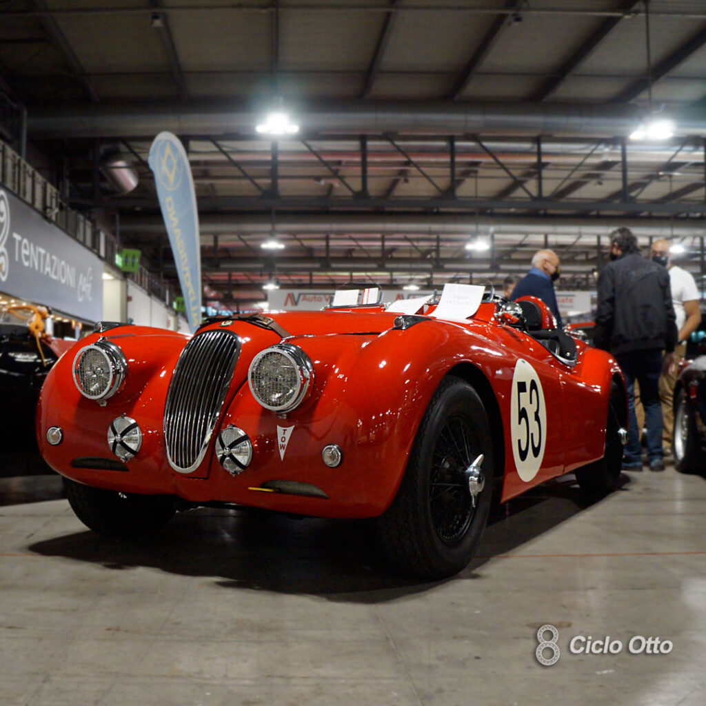 Jaguar XK120 - © Ciclootto.it
