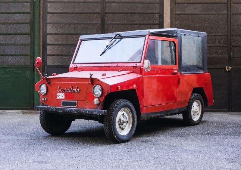 Asta Bolaffi - Lotto 15 - Fiat 500 Scoiattolo