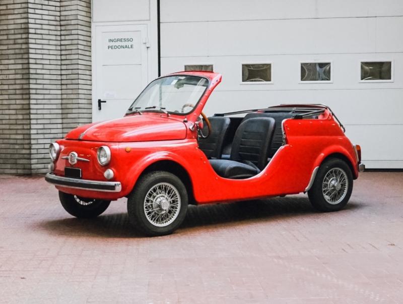 Asta Bolaffi - Lotto 18 - Fiat 500 Spyder
