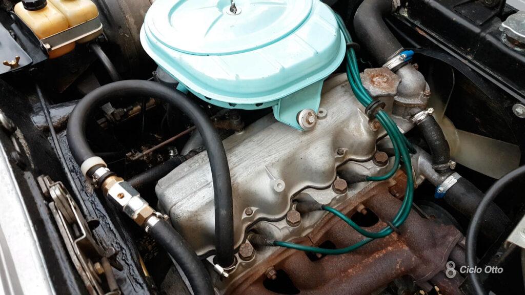 Fiat 1300 S Coupé Vignale - Il motore