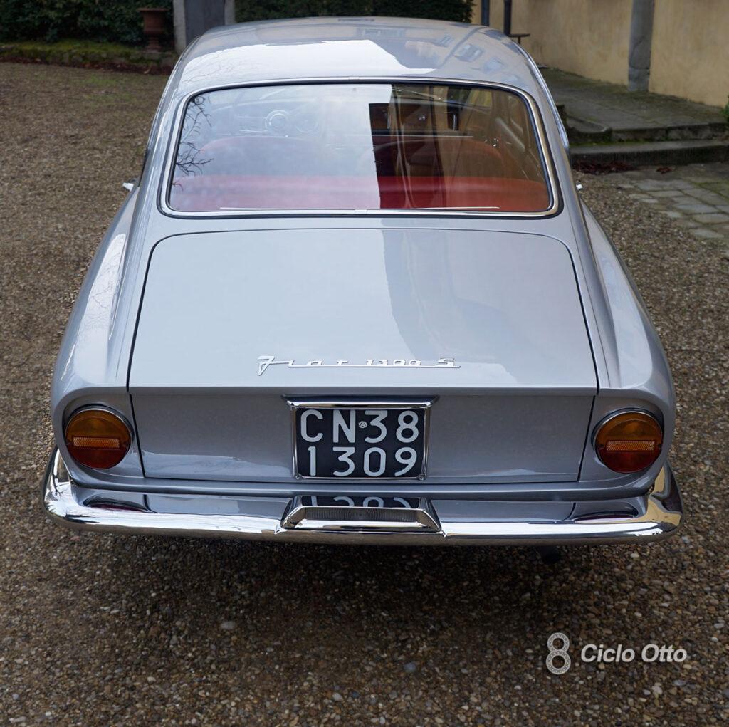 Fiat 1300 S Coupé Vignale - Particolare della coda