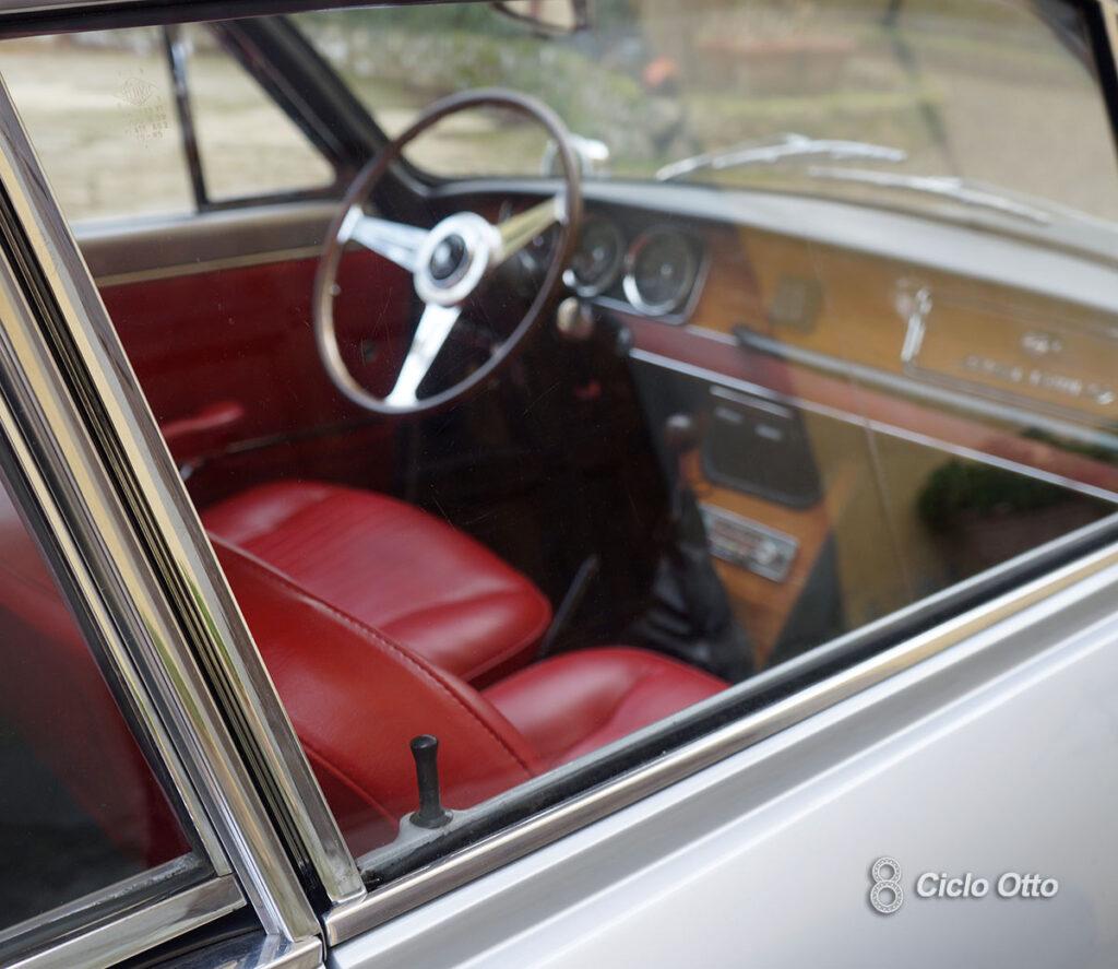 Fiat 1300 S Coupé Vignale - Lato esterno