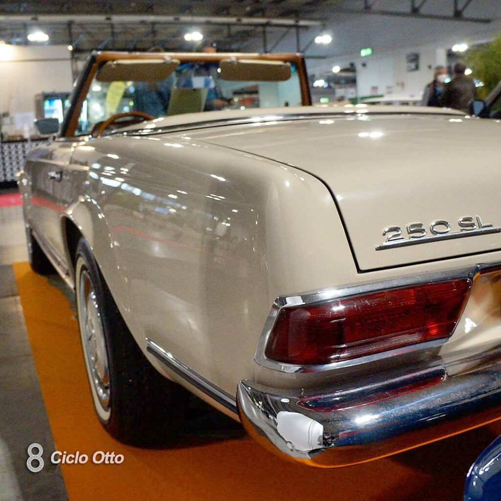 Mercedes-Benz 250 SL - © Ciclootto.it