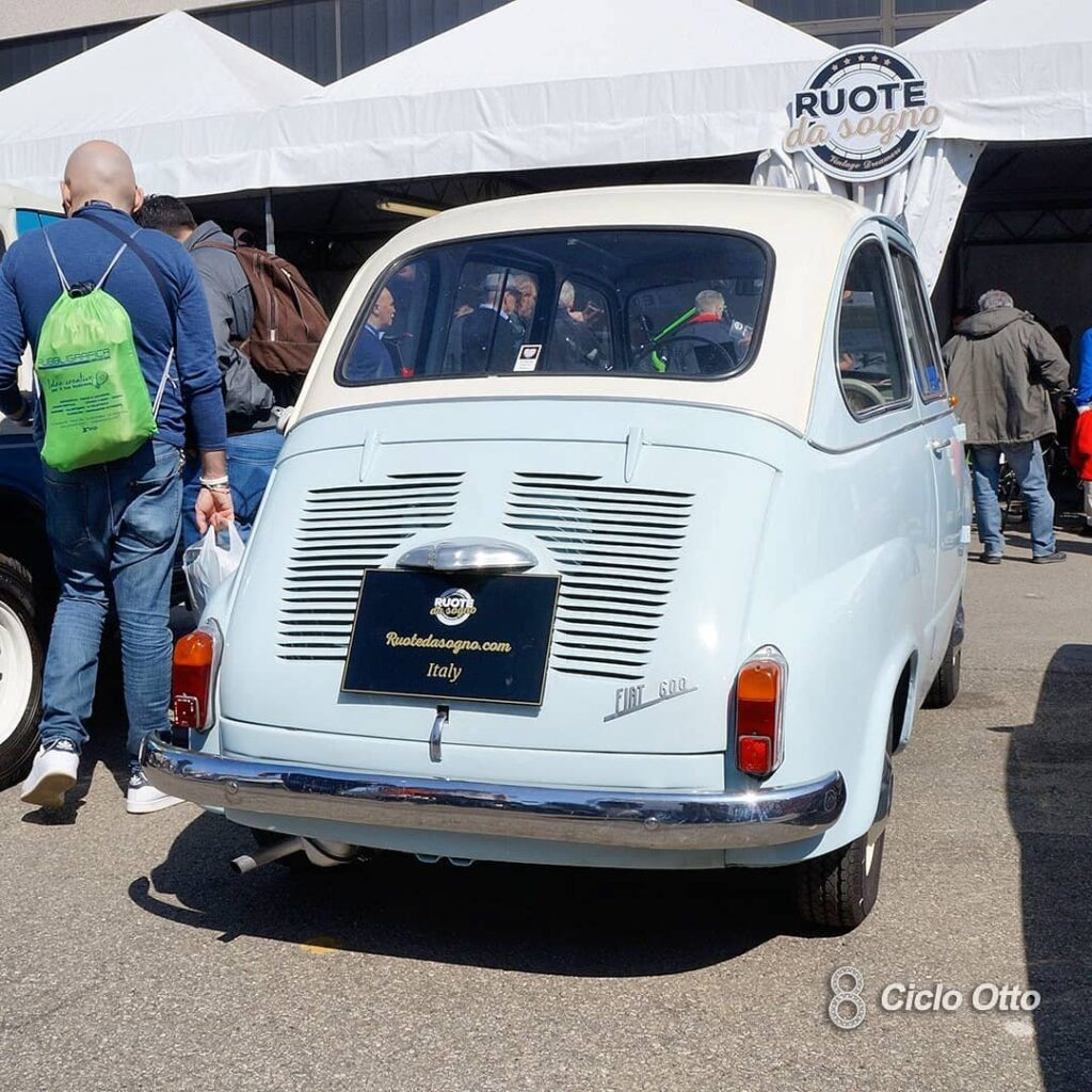 Fiat 600D Multipla - © Ciclootto.it