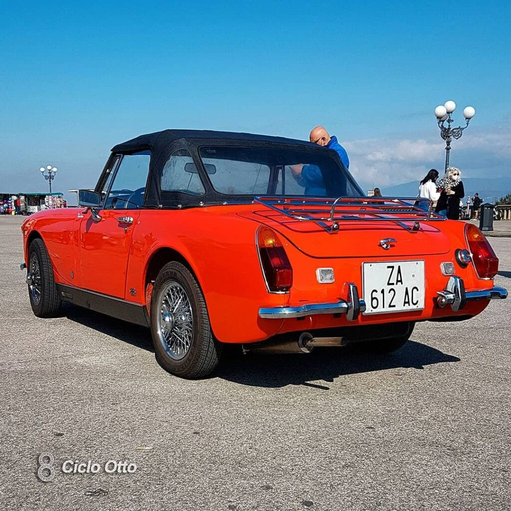 MG Midget MKIII - © Ciclootto.it