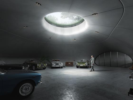 Rendering del garage - Immagine Arup.com