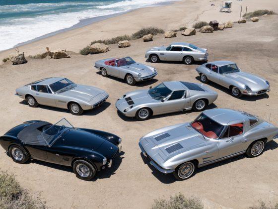 Silver Surfers - Le auto di Neal Peart - Immagine Gooding & Co.