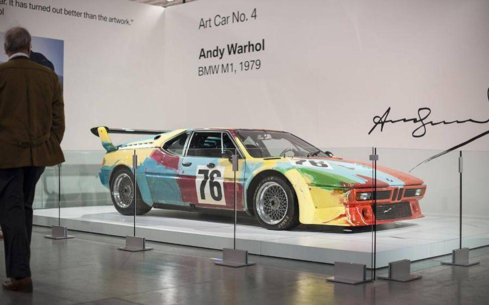 BMW ART CAR #4 – BMW M1 GR.4 BY ANDY WARHOL – IMMAGINE DA AUTOWEEK