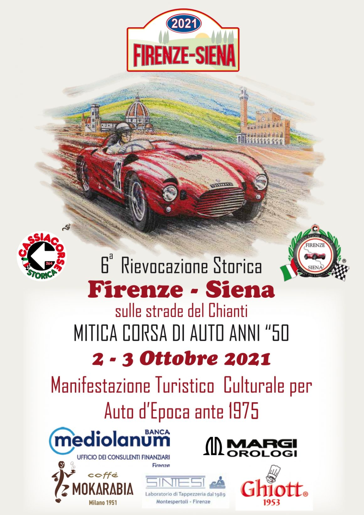 Locandina - Firenze-Siena 2019
