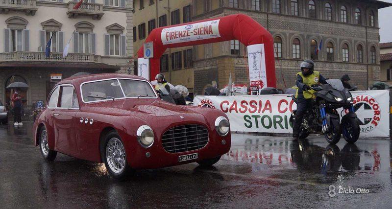 Fiat 1100 SMM Carrozzeria Motto - Firenze-Siena Historic 2019 - © Ciclootto.it