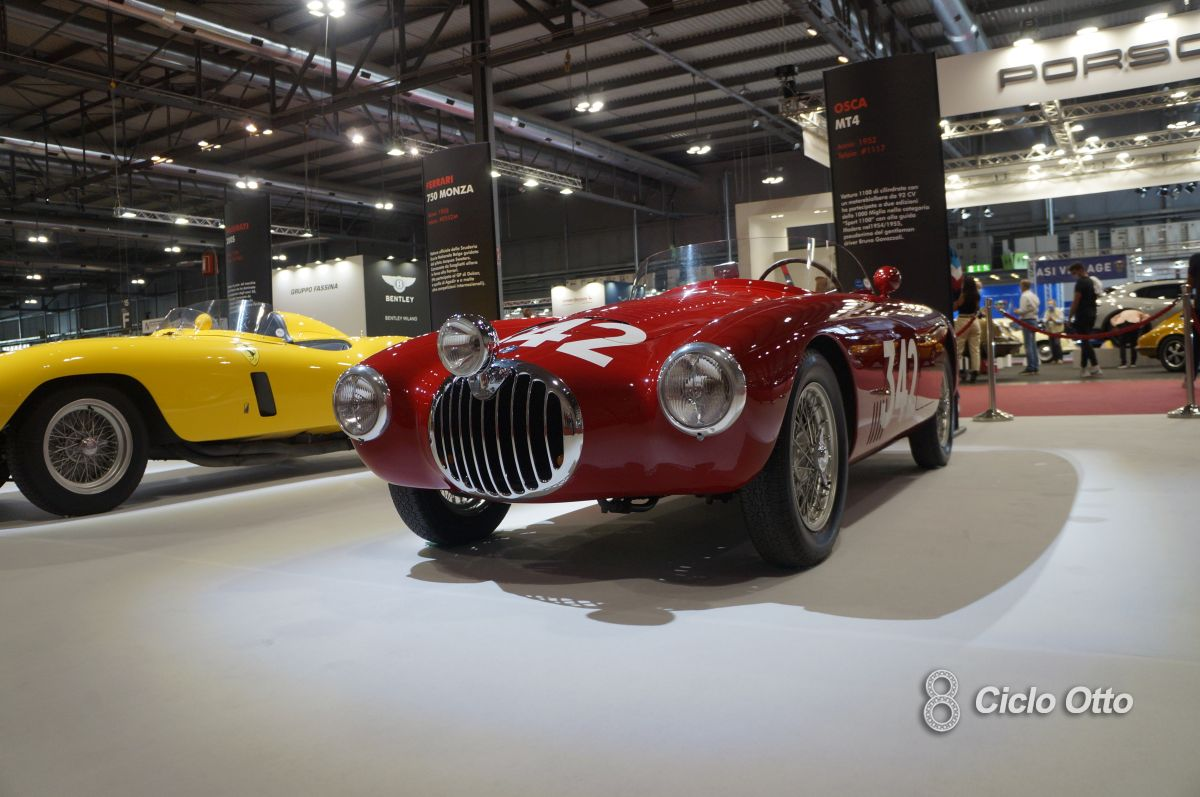 Osca MT4 - Milano Autoclassica 2021 - Immagine © Ciclootto.it
