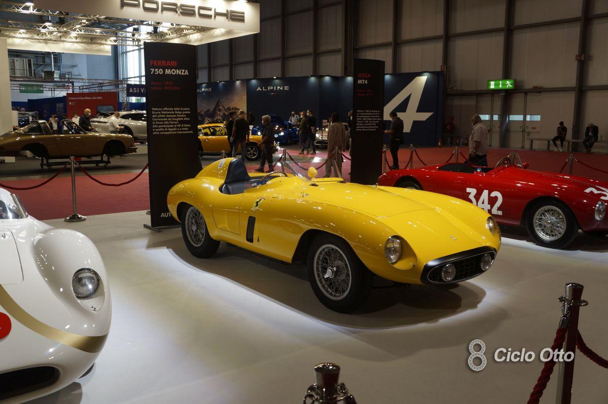 Ferrari 750 Monza - Milano Autoclassica 2021 - Immagine © Ciclootto.it