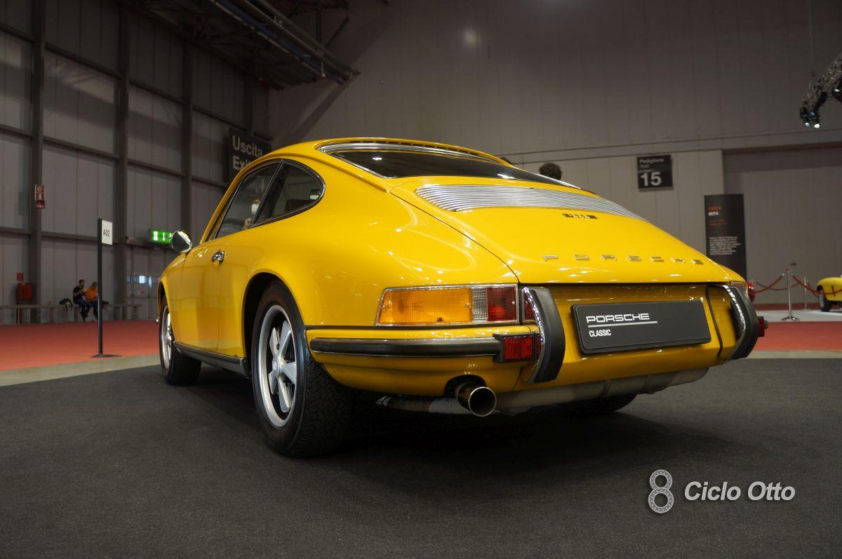 Porsche 911 E - Milano Autoclassica 2021 - Immagine © Ciclootto.it