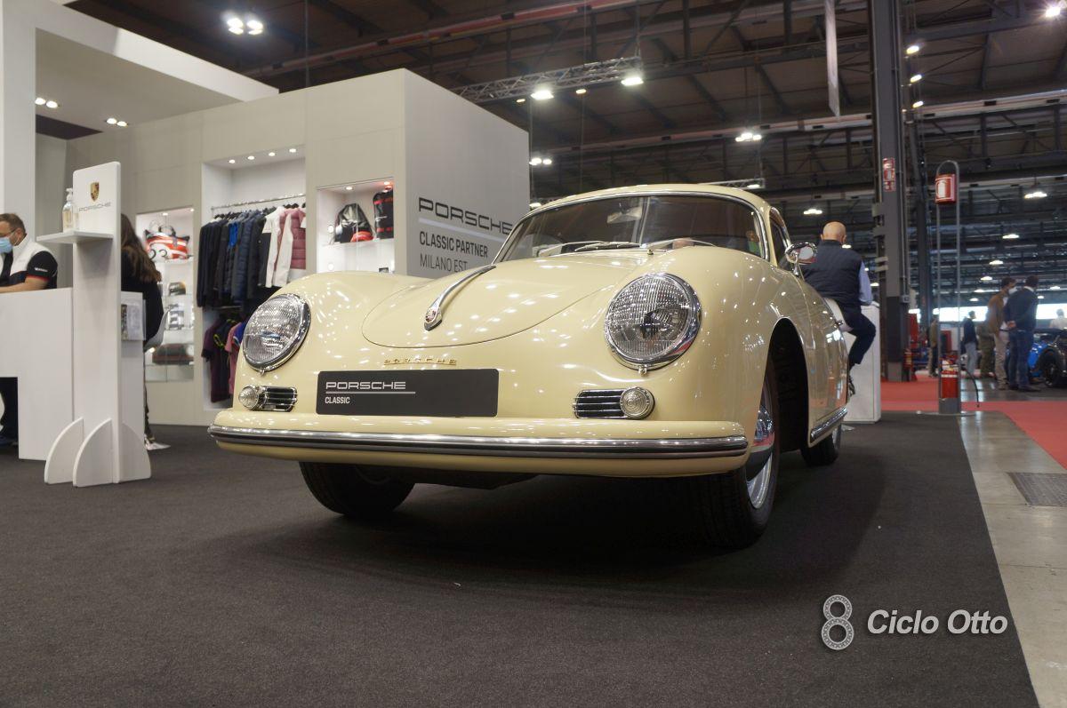 Porsche 356 C - Milano Autoclassica 2021 - Immagine © Ciclootto.it