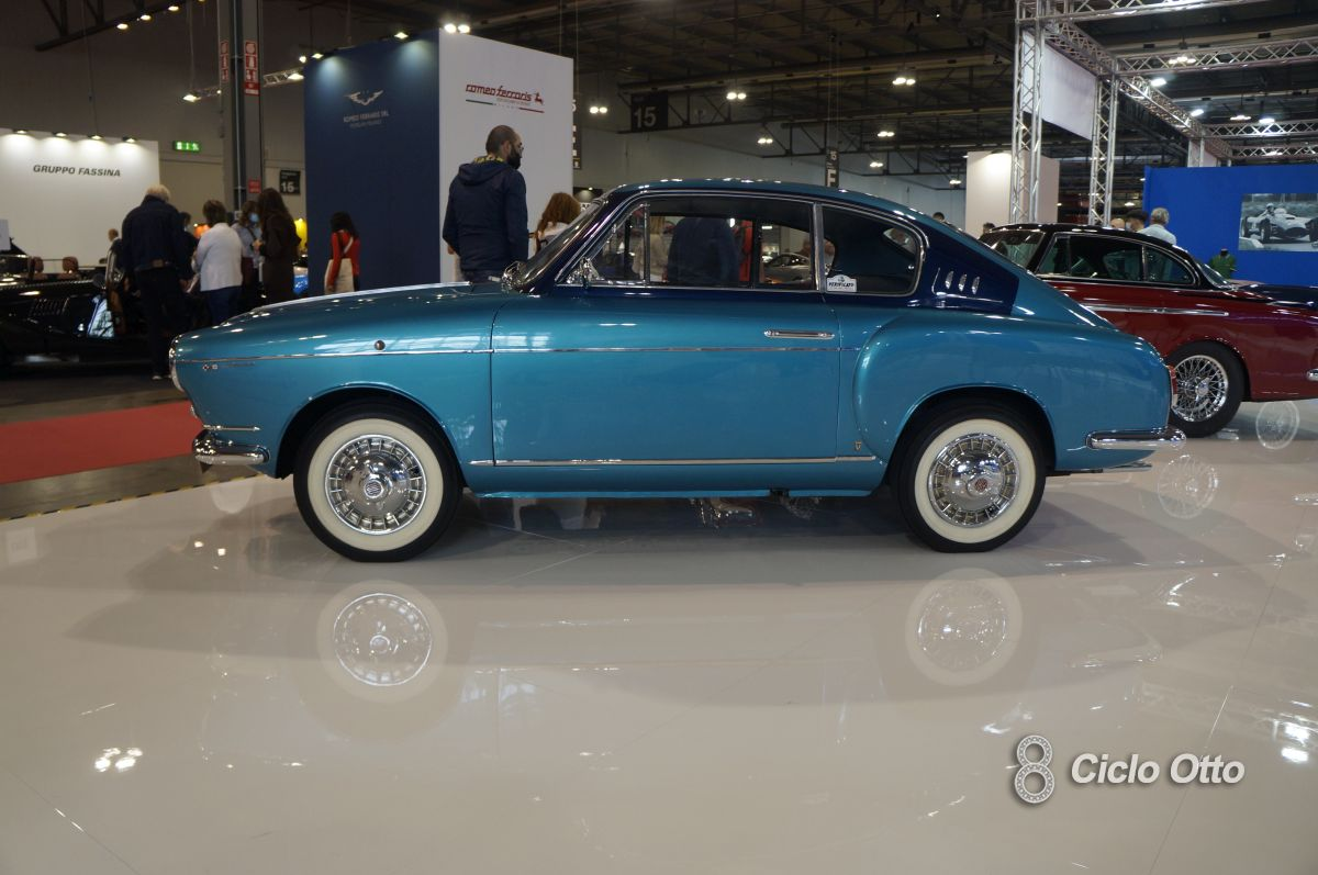 Fiat 600 Vignale Rendez Vous - Milano Autoclassica 2021 - Immagine © Ciclootto.it