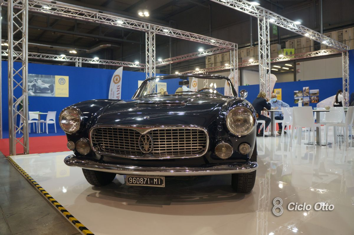 Maserati 3500 GT Convertibile Vignale - Milano Autoclassica 2021 - Immagine © Ciclootto.it