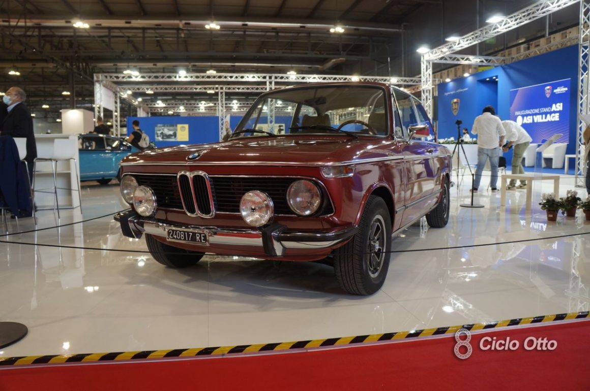 BMW 2002 tii - Milano Autoclassica 2021 - Immagine © Ciclootto.it