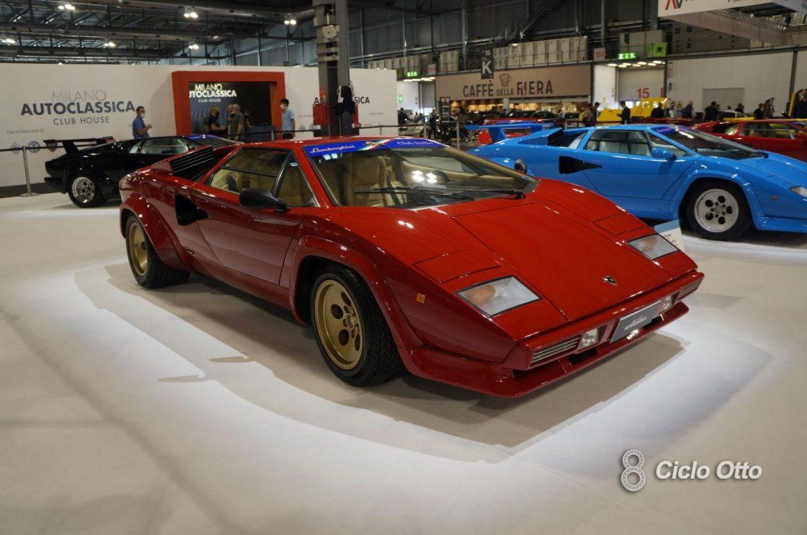 Lamborghini Countach - Milano Autoclassica 2021 - Immagine © Ciclootto.it