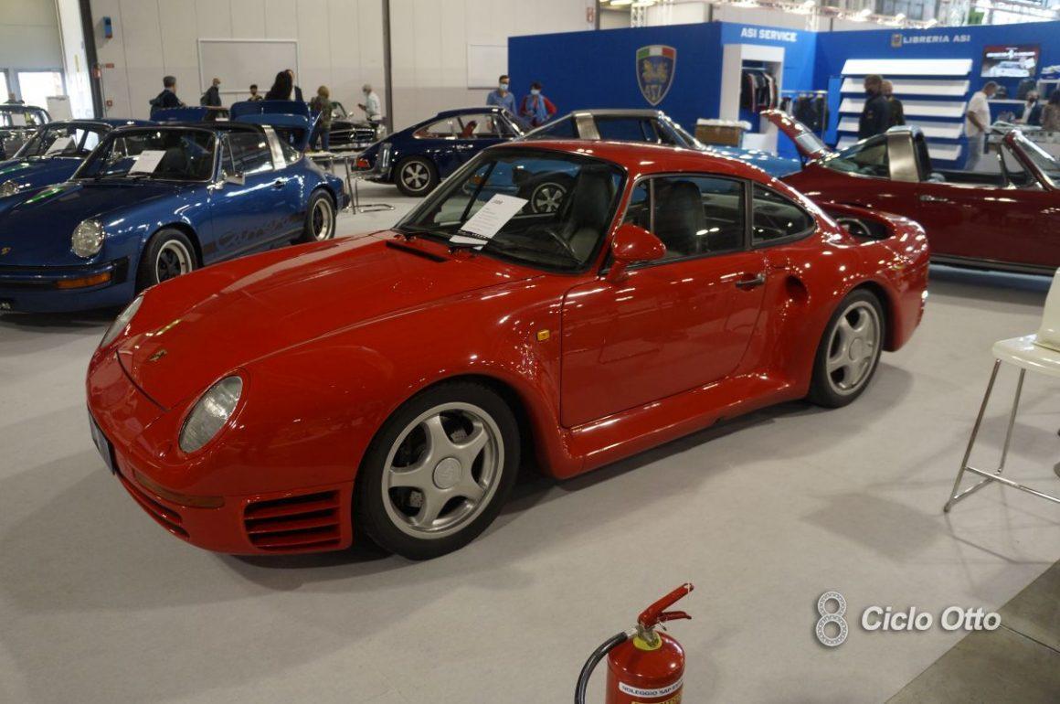 Porsche 959 - Milano Autoclassica 2021 - Immagine © Ciclootto.it